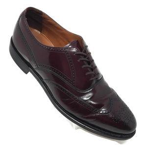 Bostonian Classic Wing-tip Dress Shoes 10.5 D/B